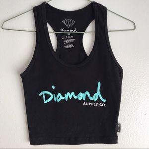 Diamond Supply Co. Women's Cropped Tank